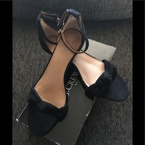 JCrew NIB Demi-Wedge Sandals with Top Knot Size 10